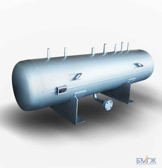 Condensate collecting tank