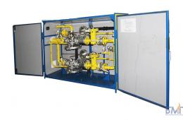 Gas control cabinets