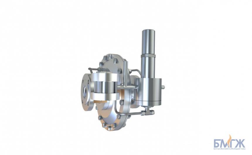 Регулятор давления газа прямоточной конструкции РДП