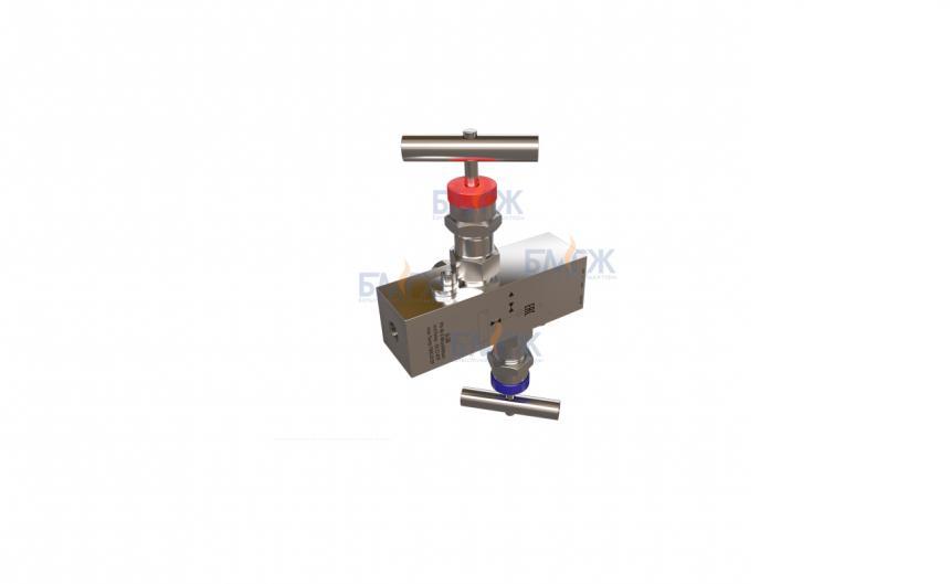 Блоки клапанные двухвентильные (Б-2В)